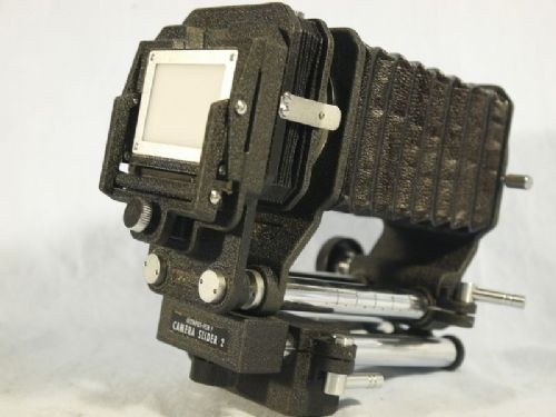 '    PEN F MACRO BELLOWS + SLIDER 2 -NICE SET-  ' Olympus  Pen F MACRO Extension Bellows + Camera Slider 2  -NICE SET - £69.99